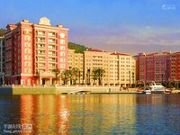 九龙山圣马克假日酒店、三楼、面靠大海