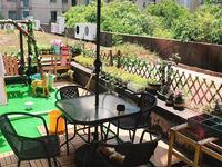 滨水广场,单身公寓,带大露台大花园,精装修