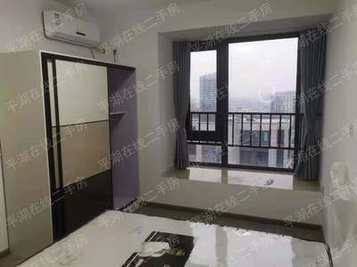 实拍 服装城边上海越华府,精装修,小区环境好,3房,