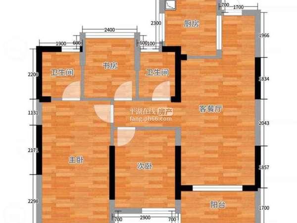 万科品质有保障高端小区 黄金楼层 视野无敌 3-2-2户型 精装修