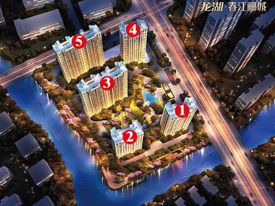 出售龙湖 春江郦城3室2厅1卫83平米128万住宅