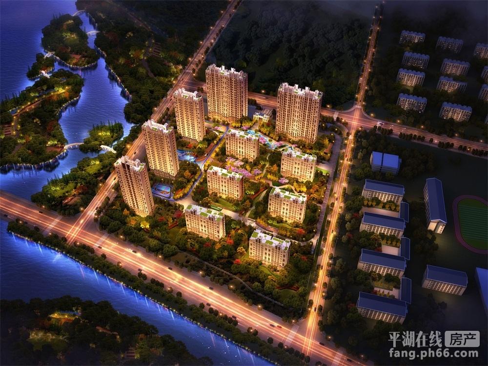龙湖·春江天玺沙盘图