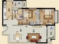 出售恒大名都2室2厅1卫89平米160万住宅